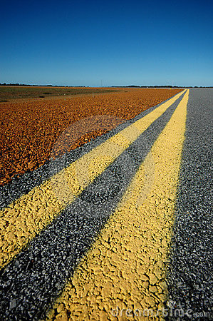 Free Double Yellow Lines Stock Photo - 913390