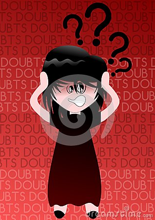 Girl with Doubts