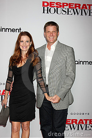 Doug Savant, Laura Leighton Editorial Stock Image