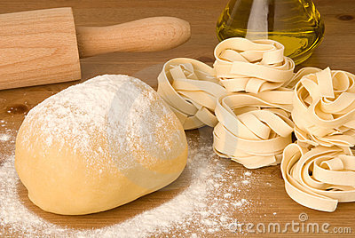 Dough for pasta
