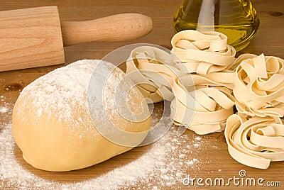 Dough for pasta