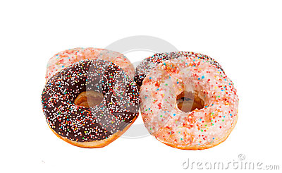 Doughnuts isolated