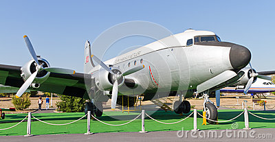 Douglas C-54 Skymaster Editorial Photography
