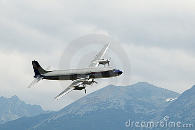 Douglas DC-6 Editorial Photography