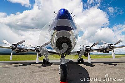 Douglas DC-6B Editorial Image