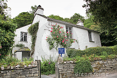 Dove Cottage Editorial Stock Photo