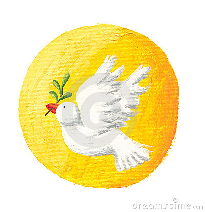 Dove of Peace and Sun