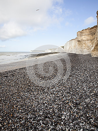 Dover britain vitklippor