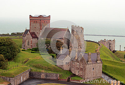 Dover castle church landscape
