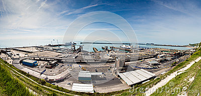 Dover Ferry Port Editorial Image