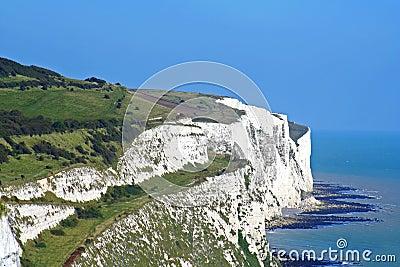 Dover klifu white