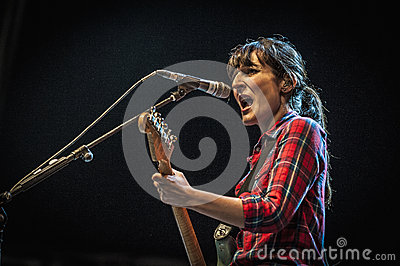Dover performs at the Hard Rock Rocks La Merce Editorial Photo