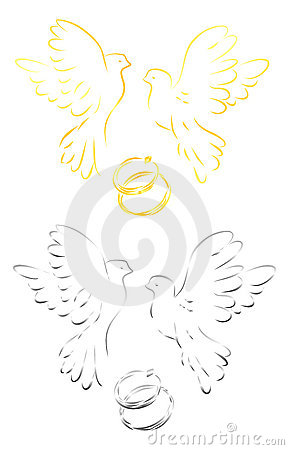 Doves of love