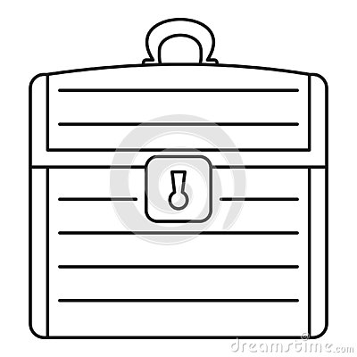 Dower icon, outline style Vector Illustration