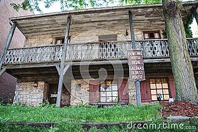 Σπίτι Dowling Εκδοτική Στοκ Εικόνες