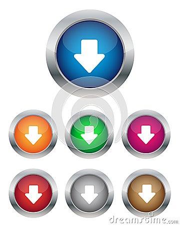 Down arrow buttons