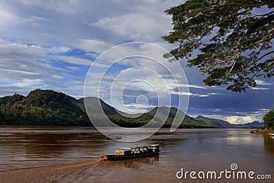 Down Mekong river