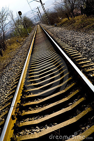 Free Down The Tracks Stock Photos - 6284573