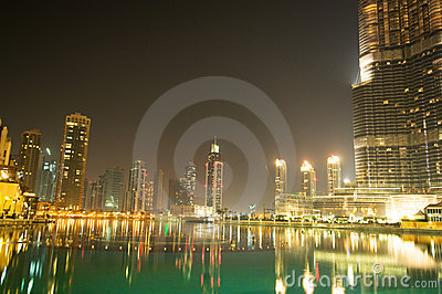 Down town of Dubai