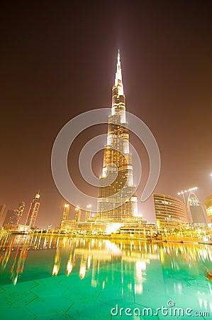 Down town of Dubai