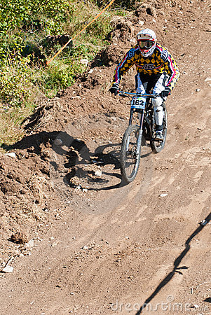 Downhill competition Editorial Image