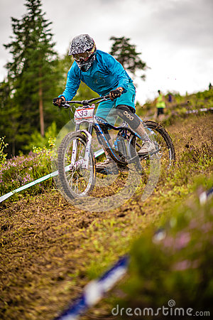 Downhill SM 2012 Editorial Image
