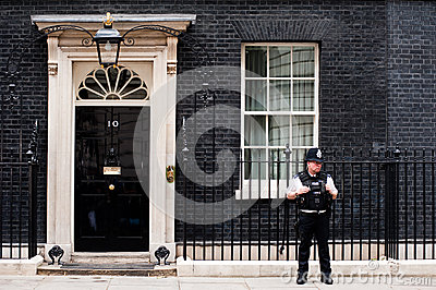10 Downing Street in London Editorial Photo