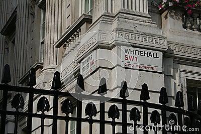 Downing street, Whitehall corner