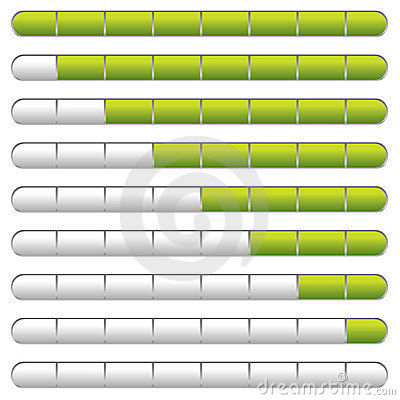 Download bar green