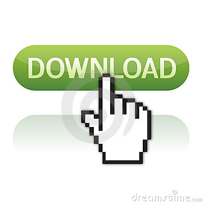Download button with cursor hand