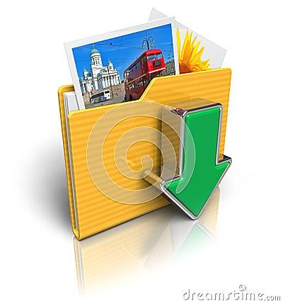 Free Download Folder Icon Stock Photos - 17474363