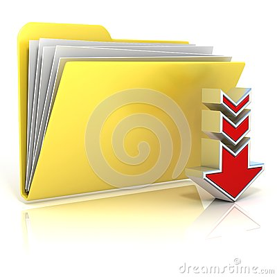 Free Download Folder Icon Stock Photography - 56552432