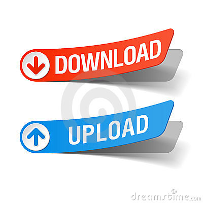 Download and upload labels