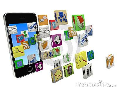 Downloading smartphone apps