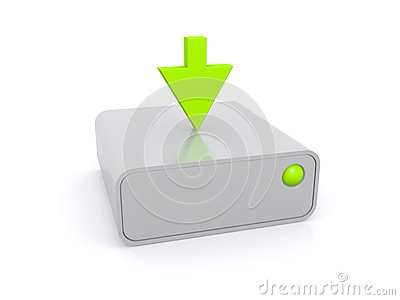 Downloading to a hard drive