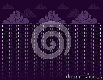 Downpour Purple