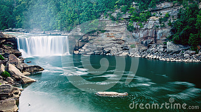 Downstream of Cumberland Falls 2