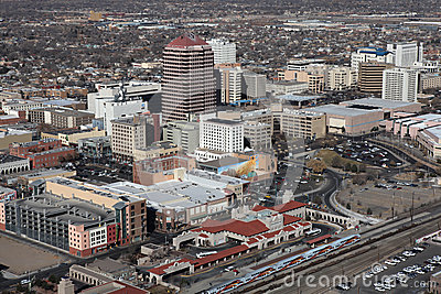 Downtown Albuquerque Editorial Image