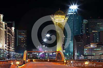 Downtown of Astana