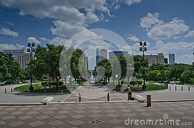 Downtown Austin Editorial Image
