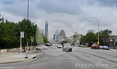 Downtown Austin Texas Editorial Photo