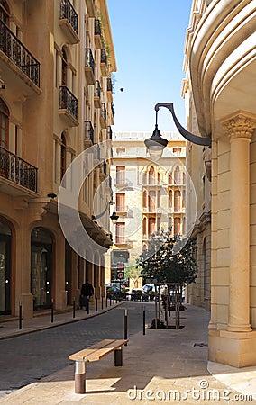 Downtown Beirut Street- Lebanon