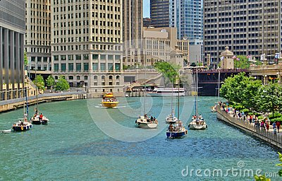 Downtown Chicago Waterfront, Illinois