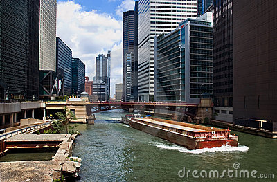 Downtown Chicago Waterway