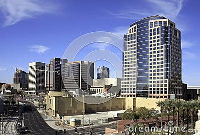 Downtown City of Phoenix Arizona Office Buildings