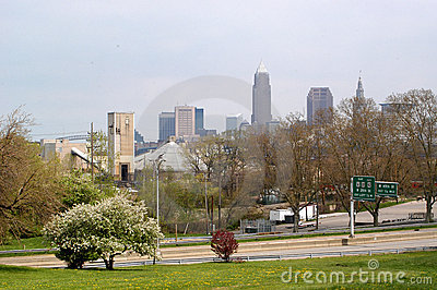 Downtown Cleveland from Afar