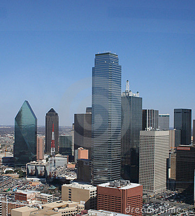 Downtown Dallas - Aerial View