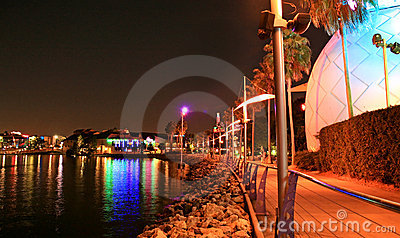 Downtown Disney in Orlando Editorial Stock Image