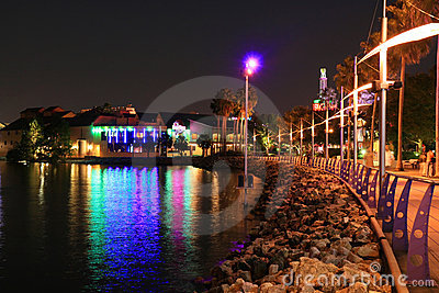 Downtown Disney in Orlando Editorial Image