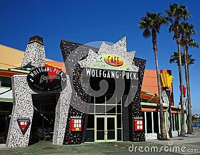 Downtown Disney Wolfgang Pucks Editorial Photography